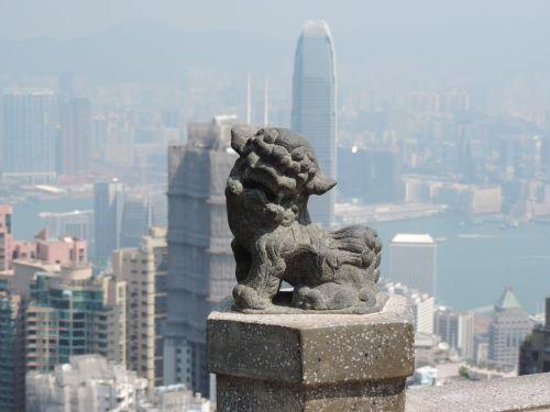 hong kong art lion