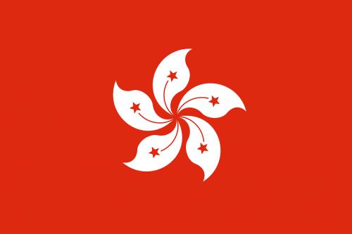 hong kong flag national flag