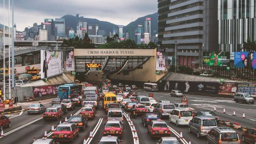 hong kong street view central