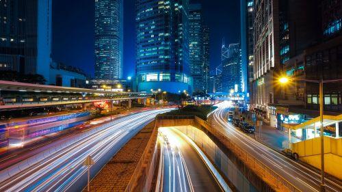 hong kong city urban