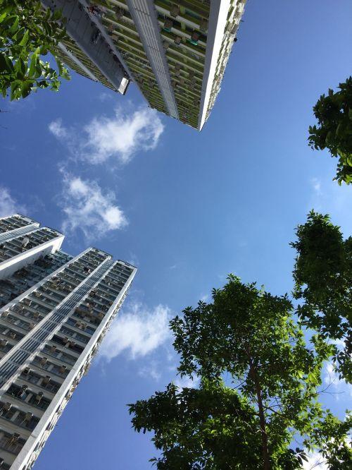 hong kong tall buildings