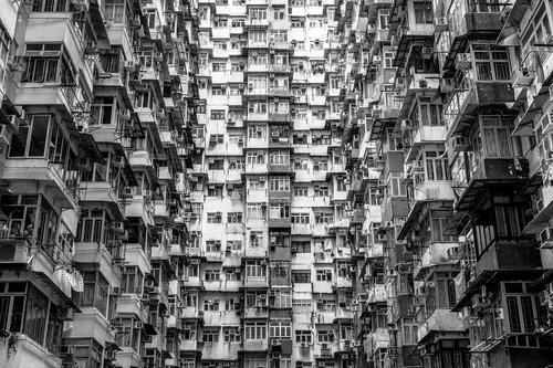 hong kong  skyscrapers  china
