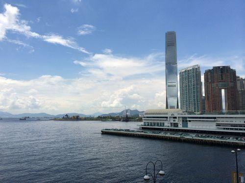 Honkongas,Viktorijos uostas,uosto miestas