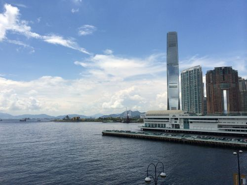 hong kong victoria harbour harbour city