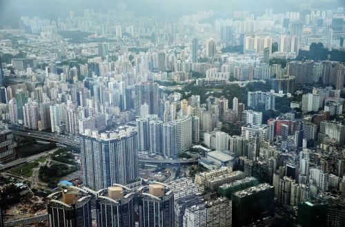 hong kong city asia