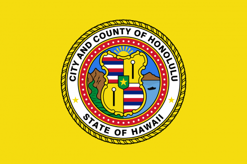 honolulu flag hawaii flag flag of honolulu
