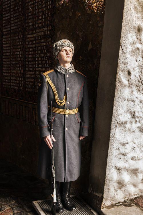 honorary guard warrior