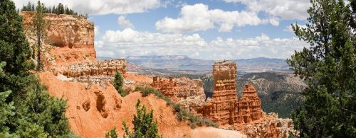 hoodoo formations rock sandstone