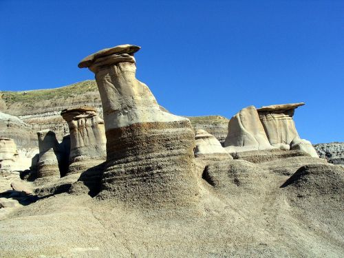 hoodoos rock formations tent rock