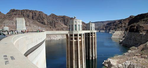 hoover dam dam concrete