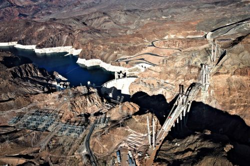 hoover dam hoover dam bypass bridge lake mead national recreation area