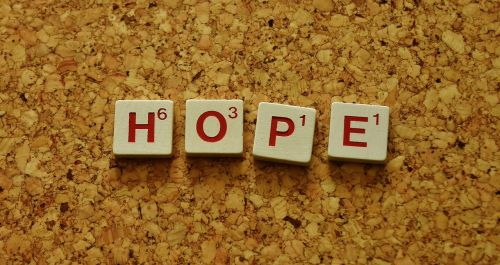 hope word letters