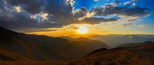 horizon solar sunset