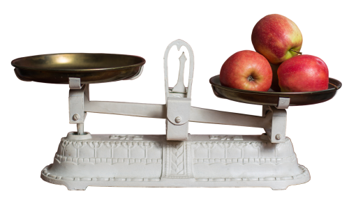 horizontal apple weight control