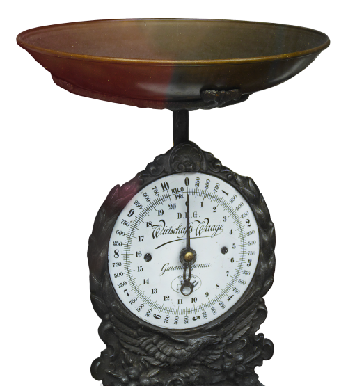 horizontal kitchen scale old scale