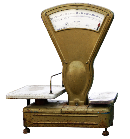 horizontal bench scale old