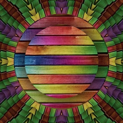Horizontal Concentric Discs