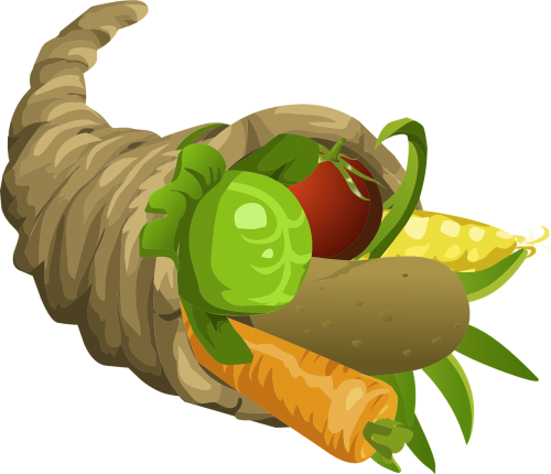 horn of plenty thanksgiving food