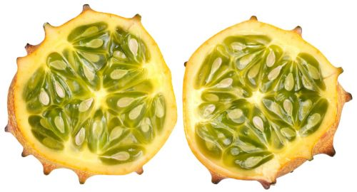 horned melon yellow green