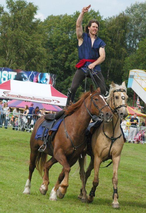horse trial horseback