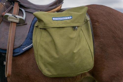 horse saddlebag animals