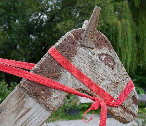 horse wooden horse children toys
