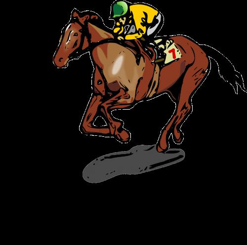 horse jockey race