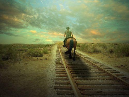 horse western ride