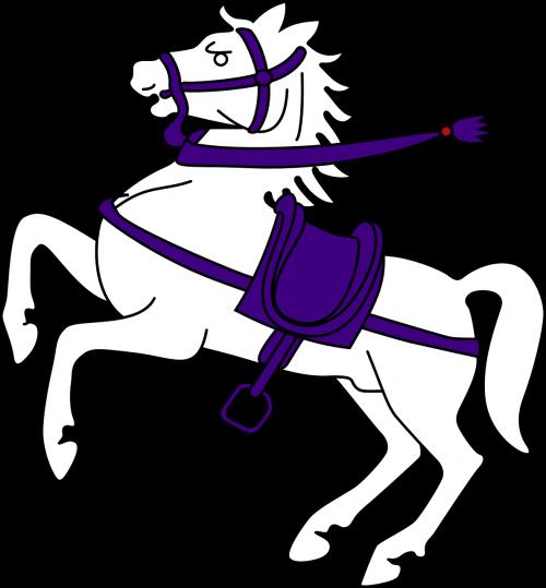 horse jumping saddle