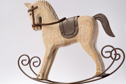 horse rocking horse decorative