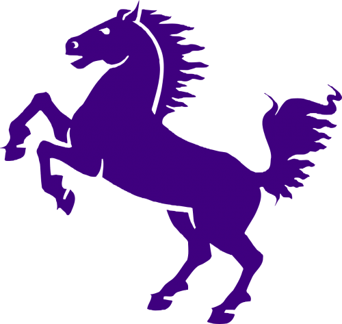horse heraldic animal mane