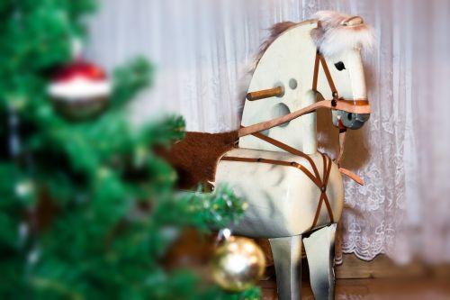 horse rocking horse wood