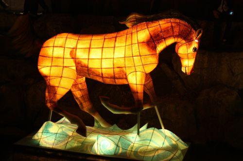 horse lantern festival cheonggyecheon stream