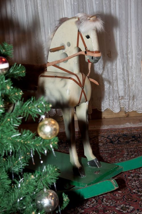 horse rocking horse mold