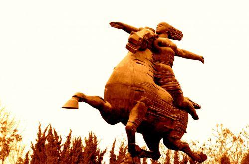 Horse And Rider (b)