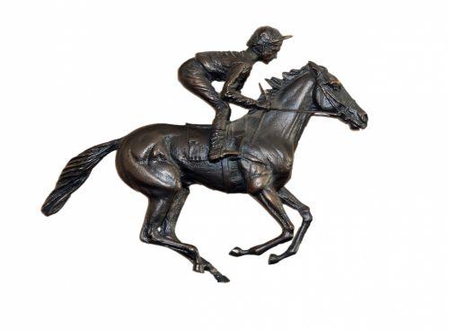 Horse And Rider Bronze