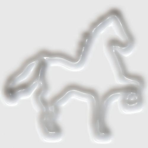 Horse In Plastic