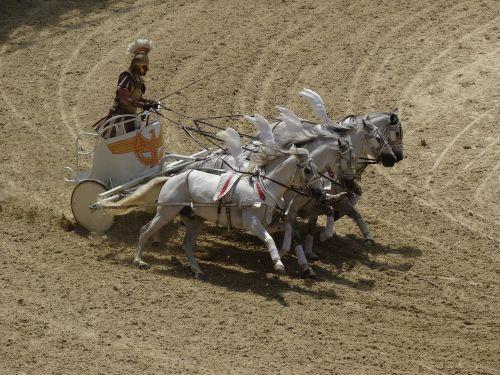 horses roman arena