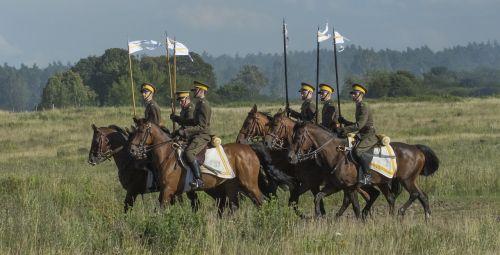 horses cavalry soldier