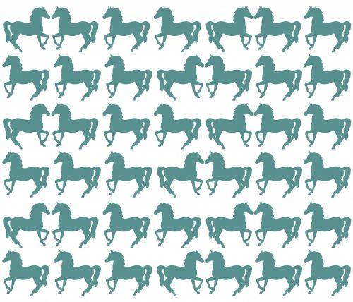 Horses Kissing Wallpaper Background