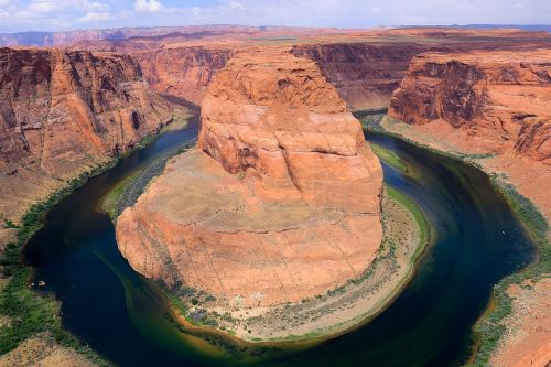 horseshoe bend arizona gorge