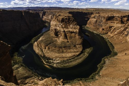 horseshoe bend grand canyon river