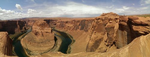 horseshoe bend bend river