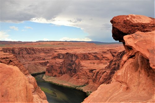 horseshoe bend  colorado  page