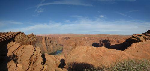 Horseshoe Canyon Panorama