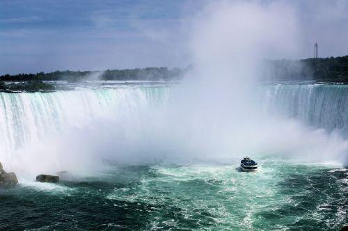 horseshoe falls niagara falls boat