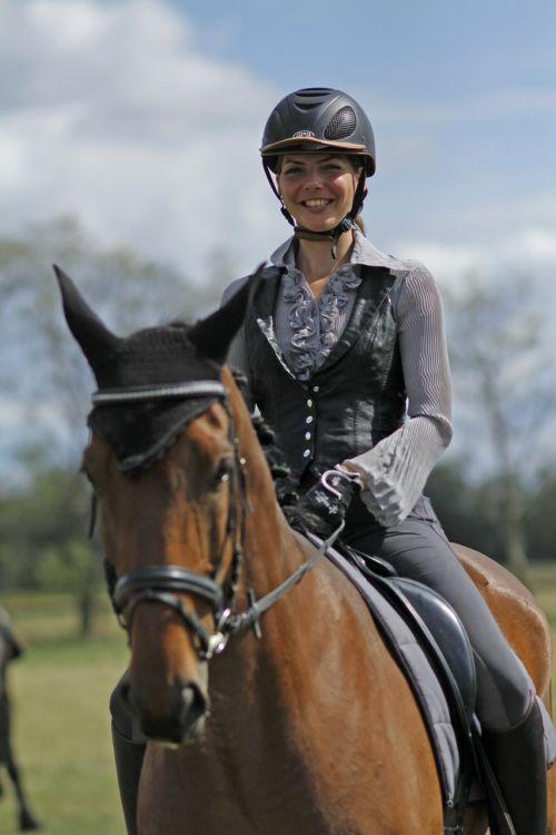 horsewoman woman horse