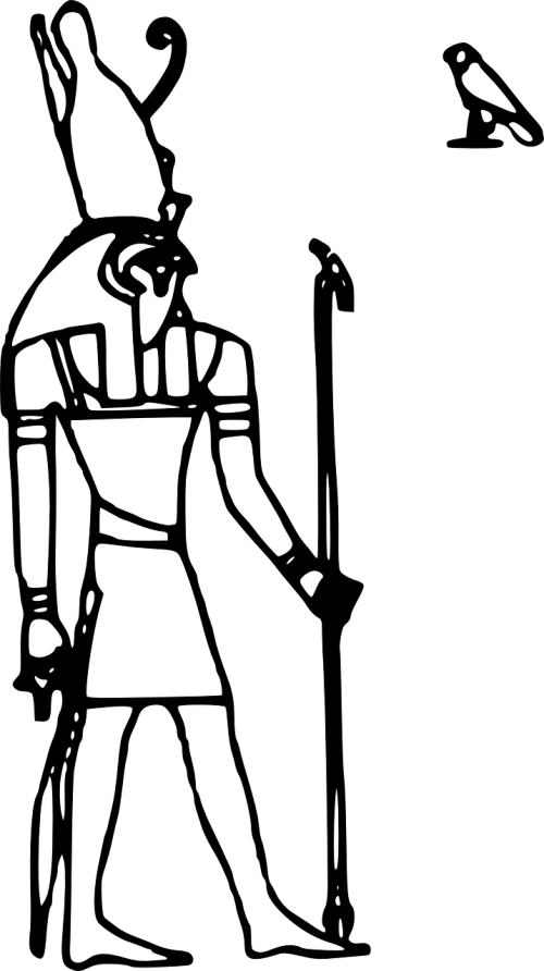 horus vulture egyptian