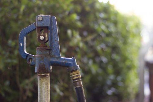 hose bib handle water