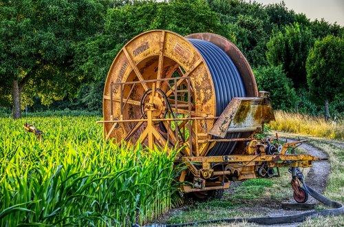 hose reel  irrigation  agriculture